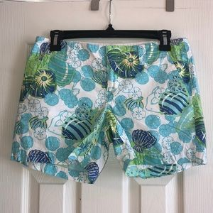 Lilly Pulitzer Palm Beach Fit Shell Shocked Shorts